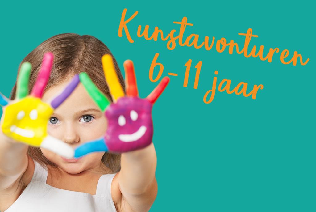 Kinderatelier Kleinkunst - Kunstavonturen 6-11 jaar