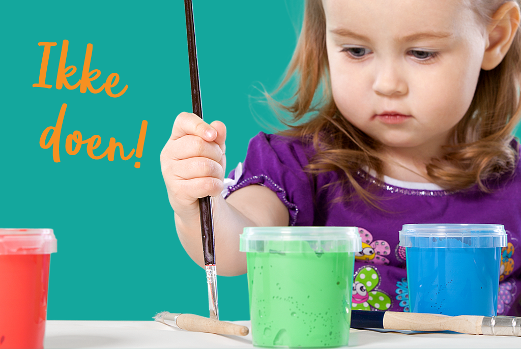 Kinderatelier Kleinkunst - ikke doen